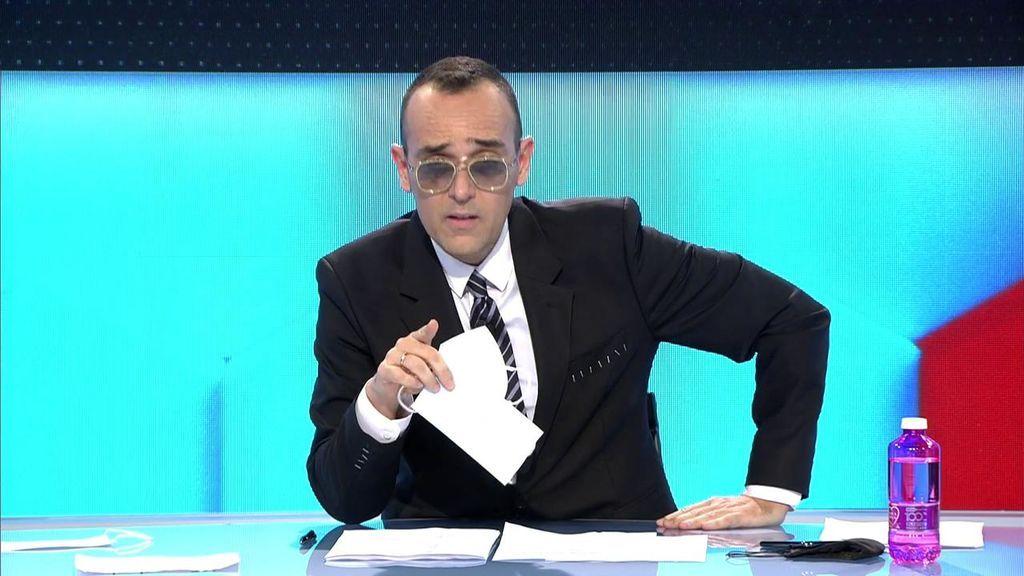 """El disgusto de Risto Mejide con el Gobierno y el precio de las mascarillas: """"Nos la han vuelto a colar"""""""