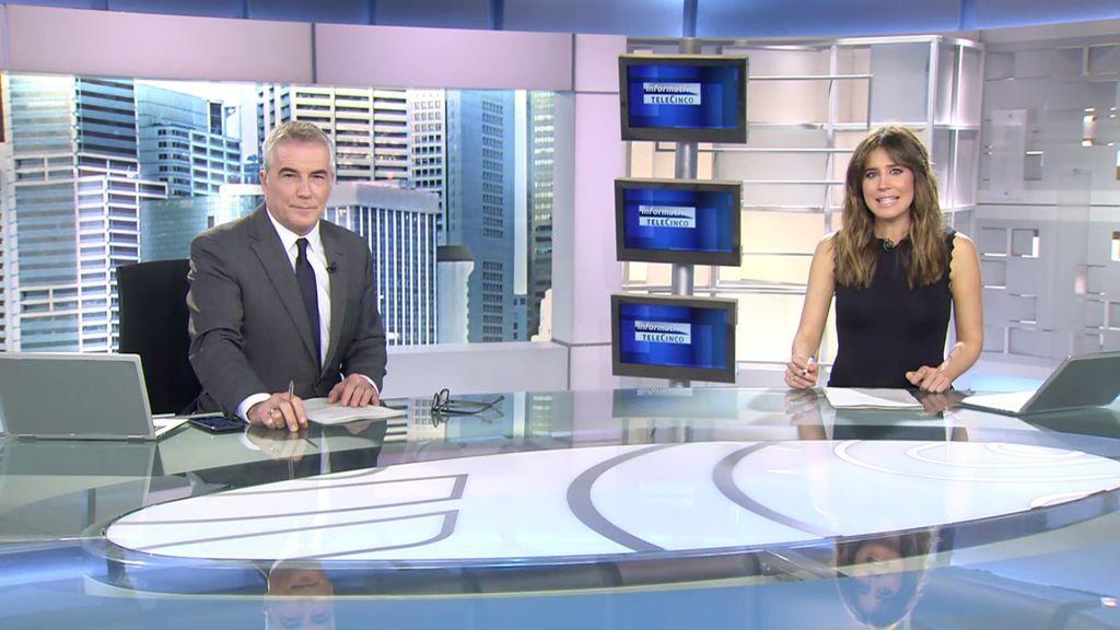 Con David Cantero e Isabel Jiménez Informativos Telecinco 2020 Mediodía 19/11/2020
