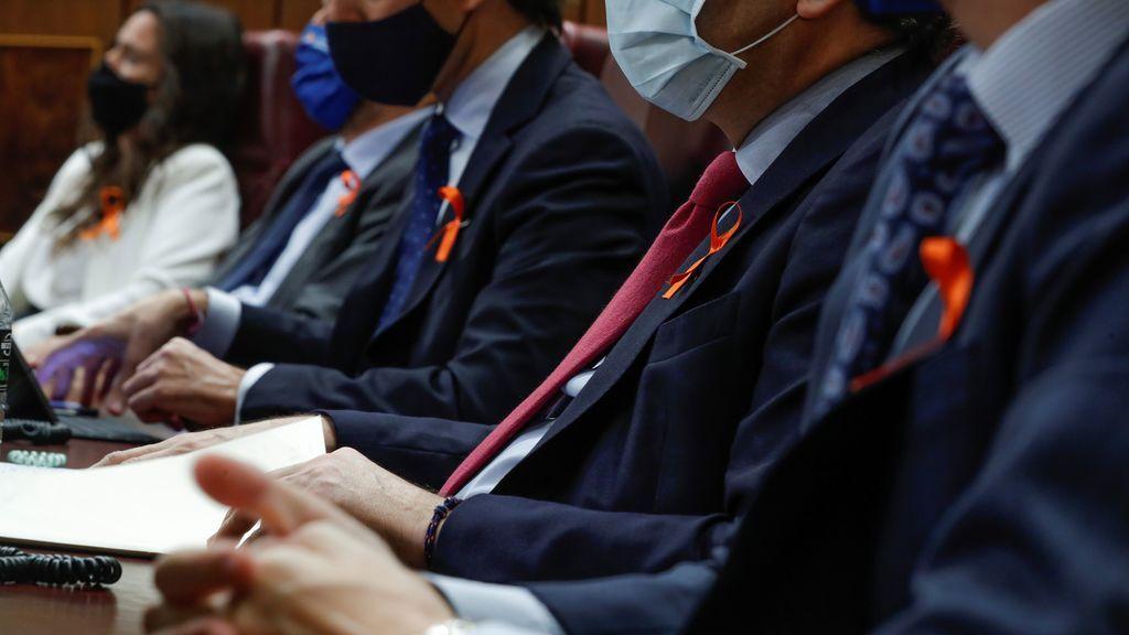 ¿Qué significa el lazo naranja de los diputados durante la tramitación de la ley Celáa?