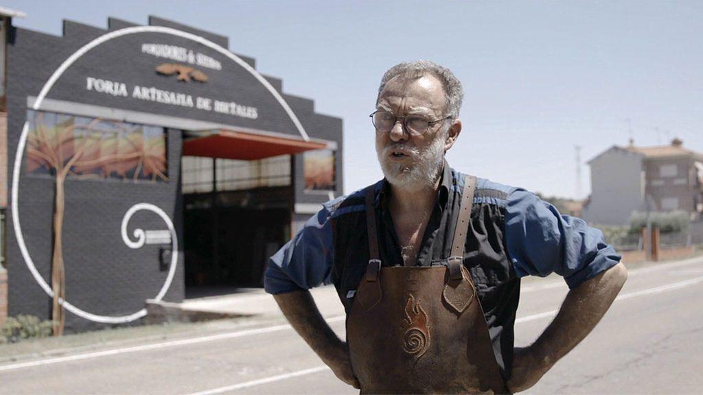 Ramón Recueros, artesano forjador
