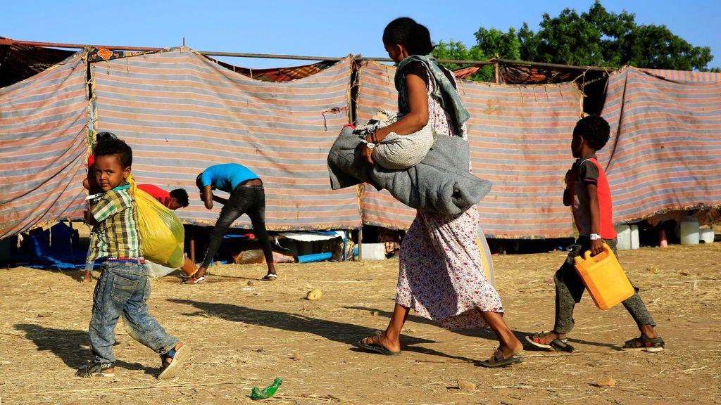 UNICEF alerta de que 2,3 millones de niños en la región etíope de Tigray necesitan ayuda humanitaria
