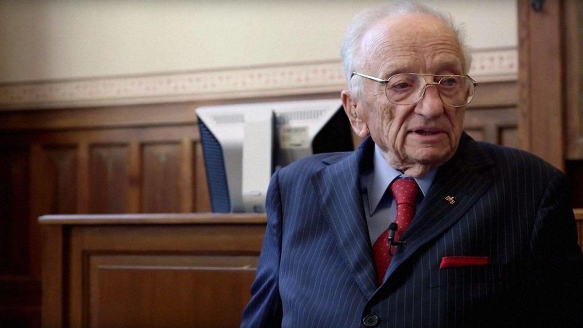 Benjamin Ferencz, el último fiscal vivo de Nuremberg, cumple 100 años reclamando juicios justos