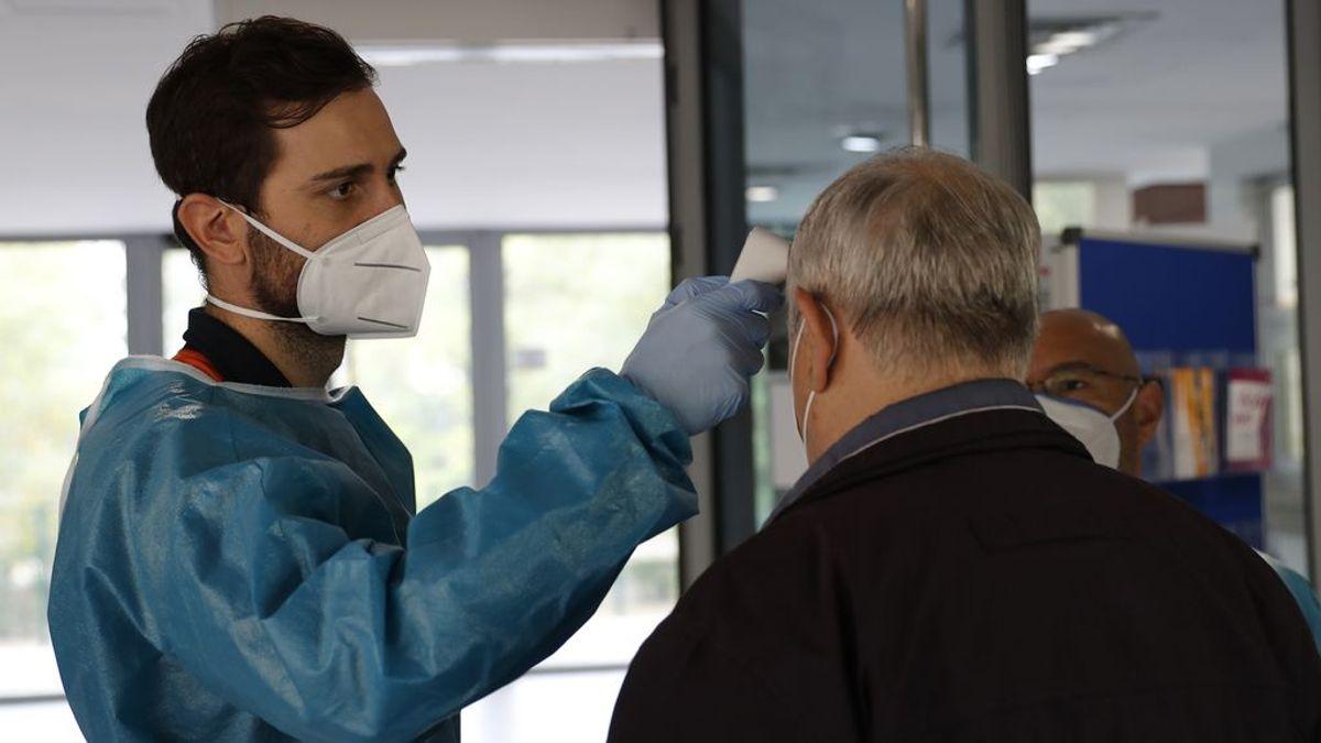 Los hospitalizados por coronavirus en Madrid descienden hasta cifras de agosto