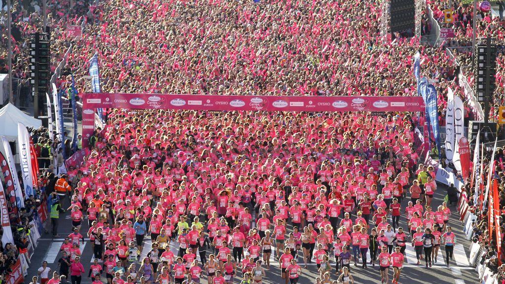 La Carrera de la Mujer Central Lechera Asturiana llega a su fin con un evento final lleno de premios