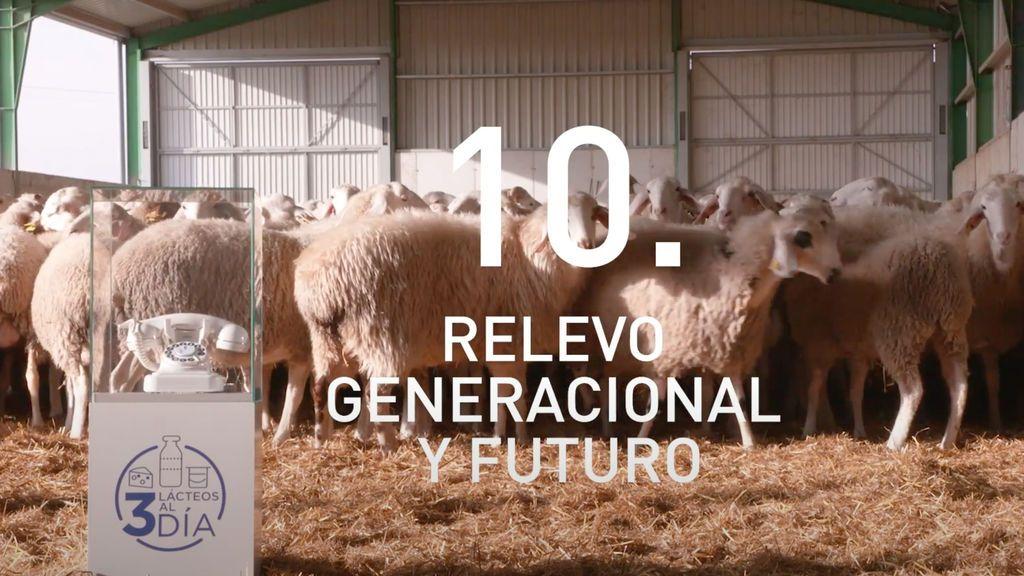 La supervivencia del sector lácteo en el futuro pasa por el relevo generacional