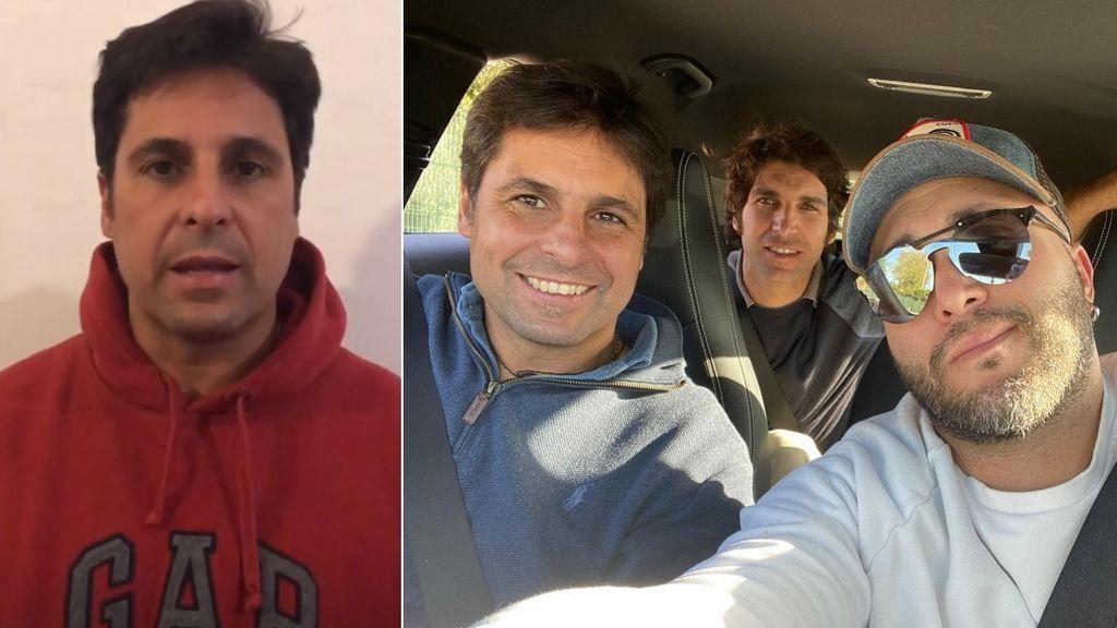 """Fran Rivera justifica su viaje con Kiko y Cayetano: """"Mi tío José está terminal, hemos ido a despedirnos"""""""