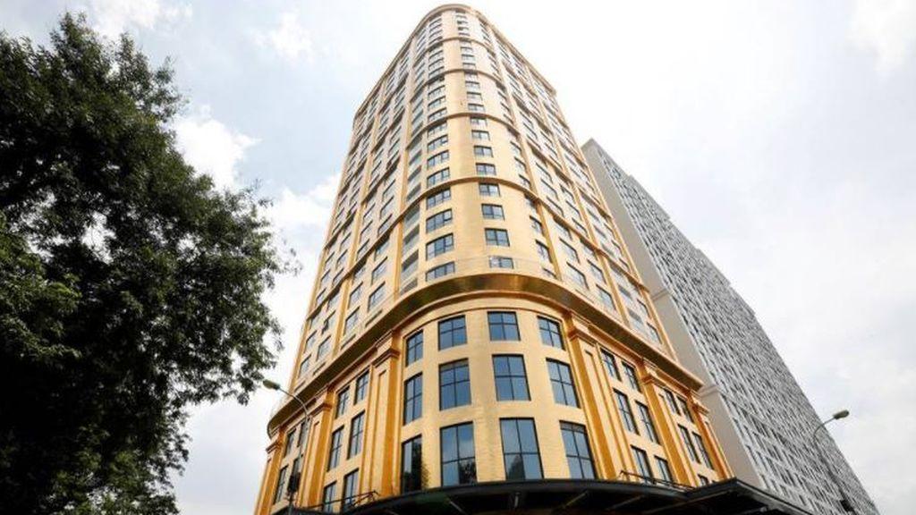 El primer hotel del mundo bañado en oro abre sus puertas en Vietnam en plena pandemia