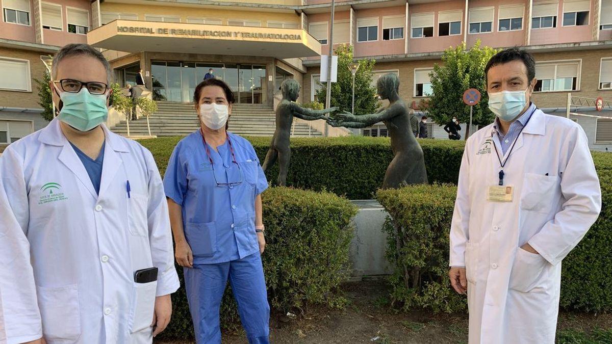 """Saray, la mujer que pudo dar a luz tras sufrir un derrame cerebral semanas antes: """"Ha sido muy paciente y valiente"""""""