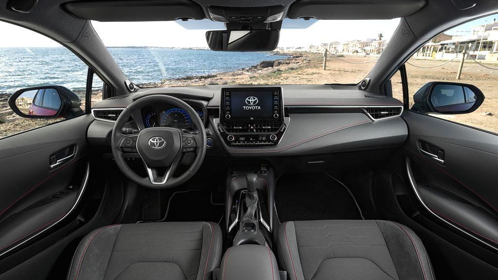 Interior del Toyota Corolla