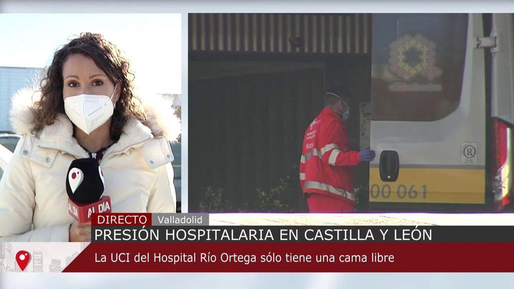 Castilla y León es la comunidad autónoma con mayor incidencia acumulada
