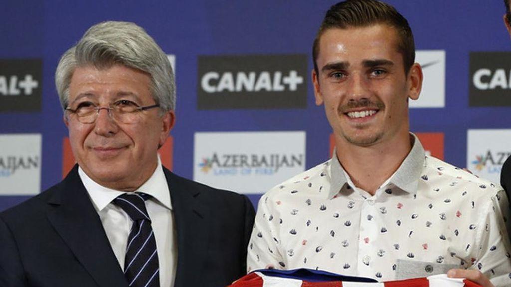 El Atlético de Madrid quiso a Griezmann este verano y le ofreció un intercambio de jugadores al Barça