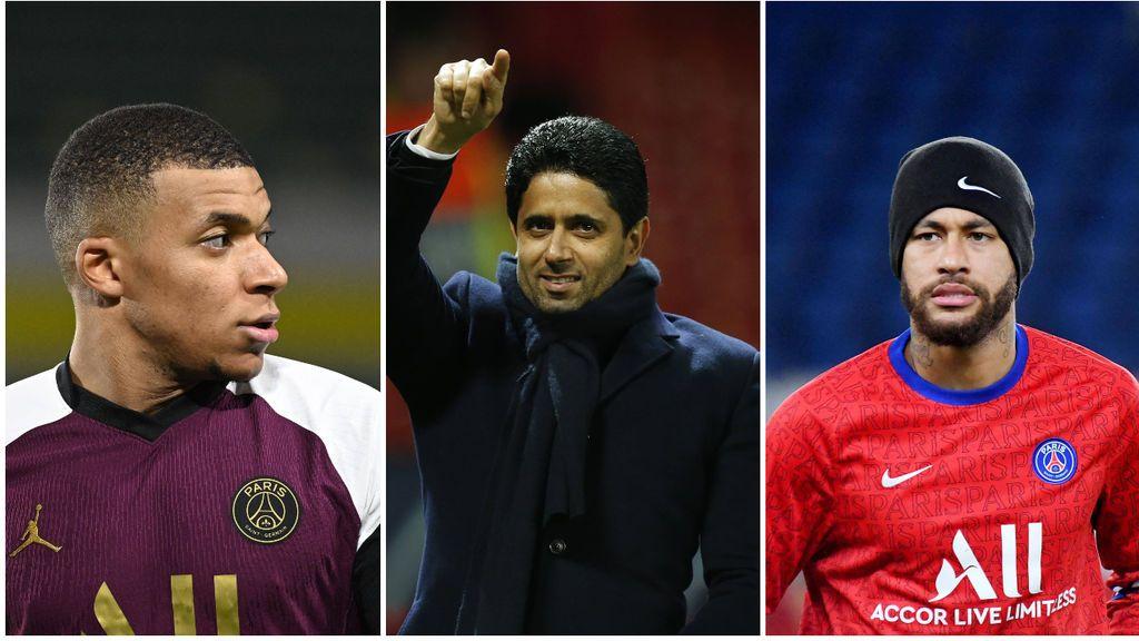 ¿Mbappé o Neymar?: el PSG solo tiene dinero para renovar a uno y el brasileño tendría más papeletas para salir