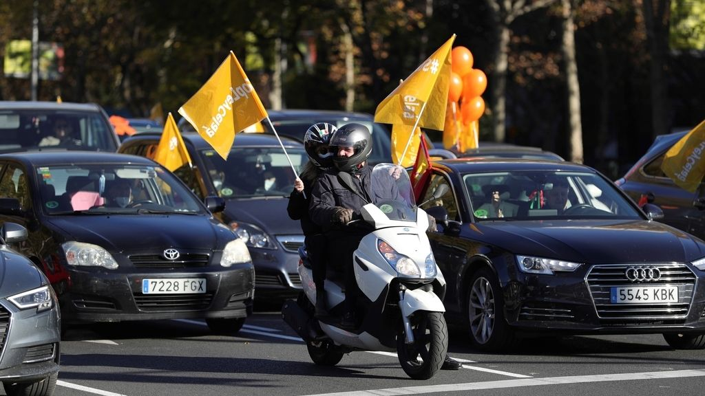 Manifestaciones en toda España contra la Ley Celaá