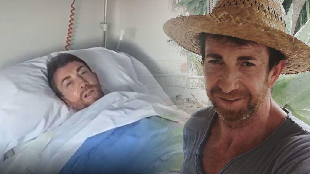"""Pablo Motos se graba tras pasar por quirófano: """"Me han metido un tubo en la garganta y duele un montón"""""""