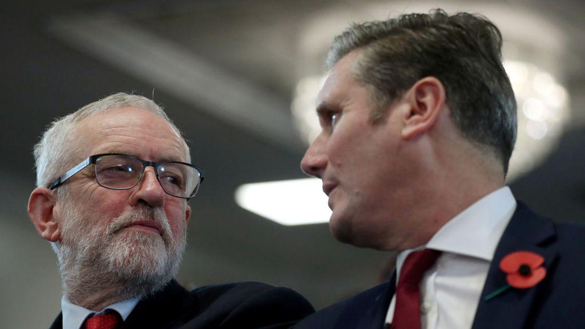 Jeremy Corbyn y Keir Starmer se disputan el control del Partido Laborista en Reino Unido