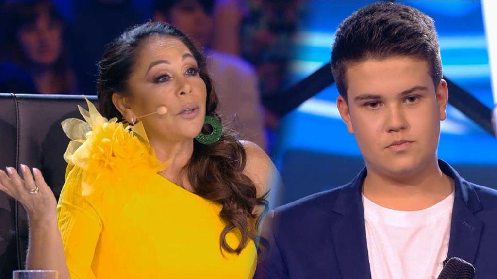 La actuación de Antonio en la semifinal