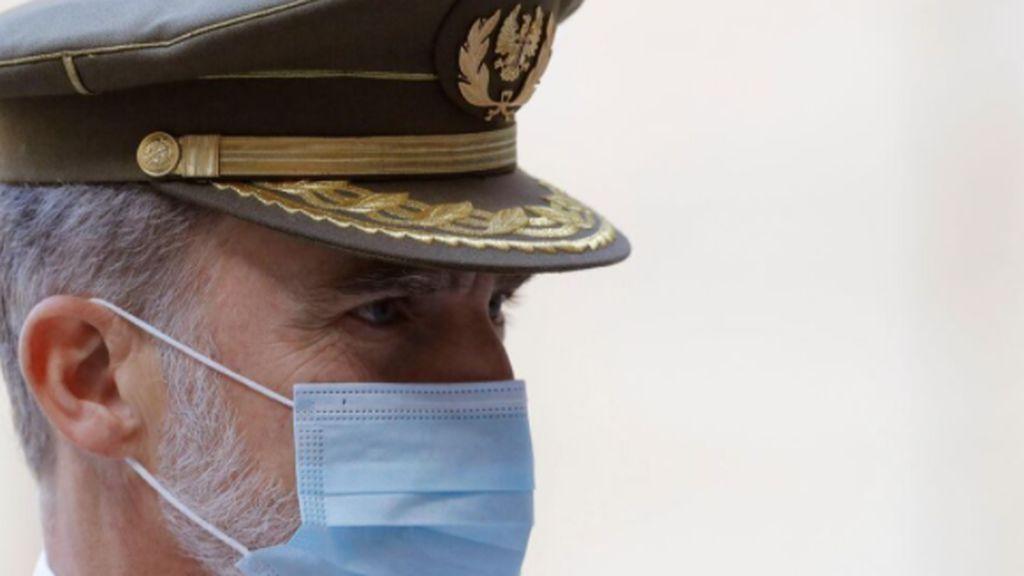 Última hora del coronavirus: El Rey guardará cuarentena 10 días tras conocer que un contacto ha dado positivo en Covid-19