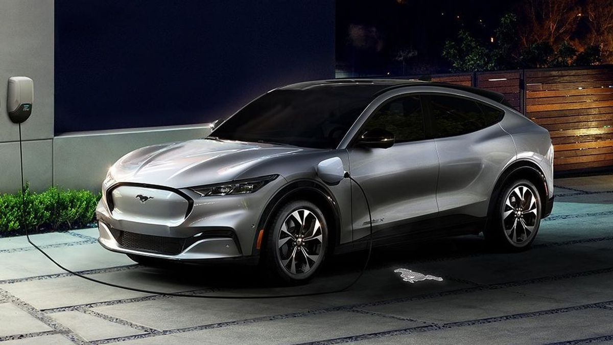 Ford reinventa su mítico Mustang ahora en formato SUV totalmente eléctrico