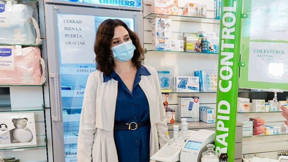 Madrid se prepara para la venta de test de autodiagnóstico de saliva en farmacias