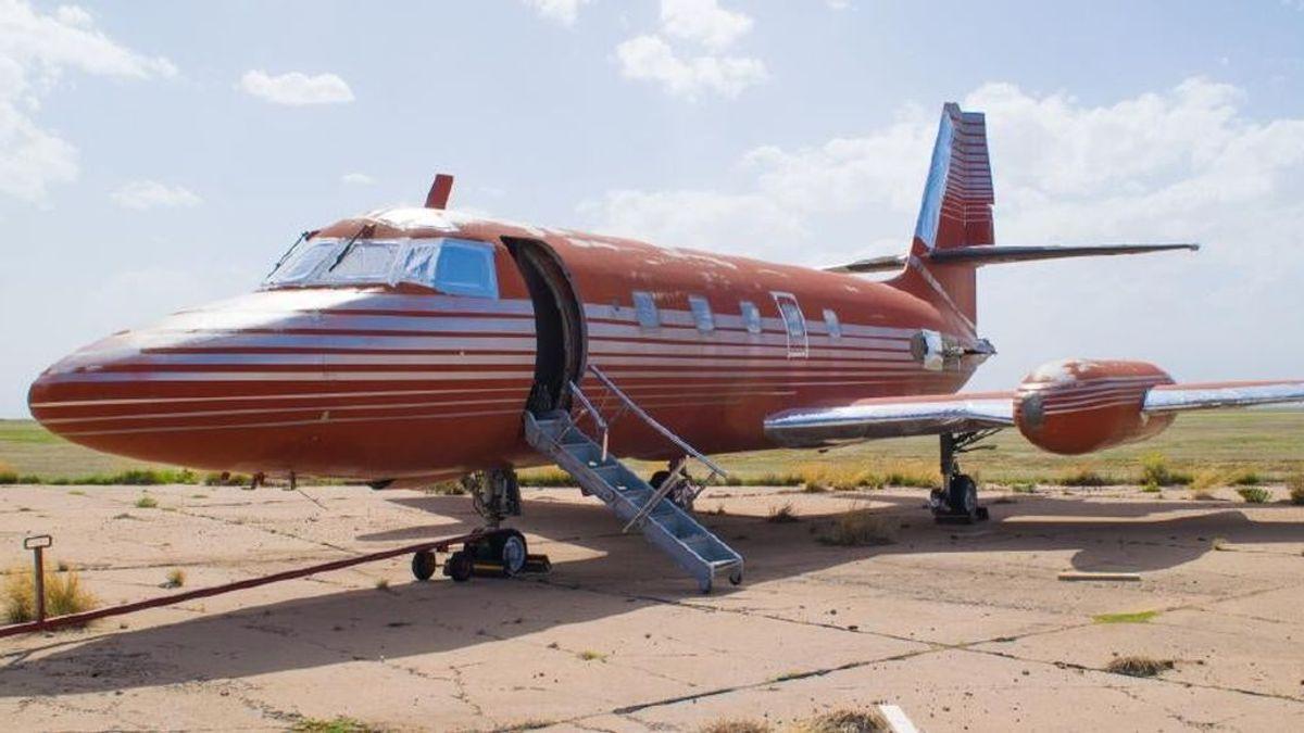 Así es el mítico avión de Elvis Presley que estuvo 30 años parado