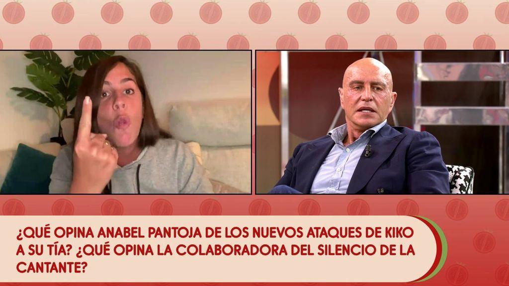"""Anabel Pantoja, sobrepasada por la guerra familiar, pierde la paciencia con Kiko Matamoros: """"¡Solo quieres jo*** en el trabajo!"""""""