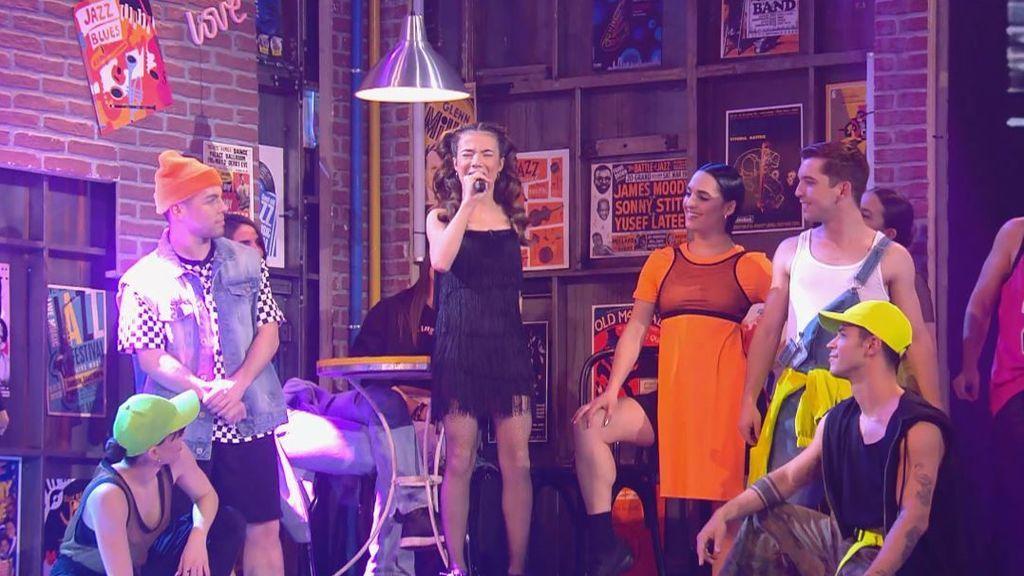 La actuación de Cristina en la semifinal