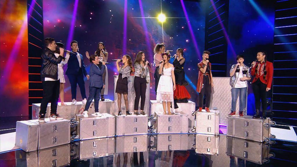 Última semifinal Idol Kids Temporada 1 Programa 12