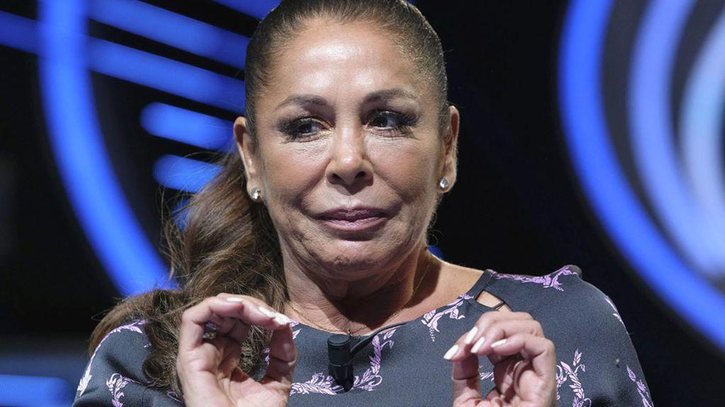Isabel Pantoja, en la presentación de 'Idol Kids'