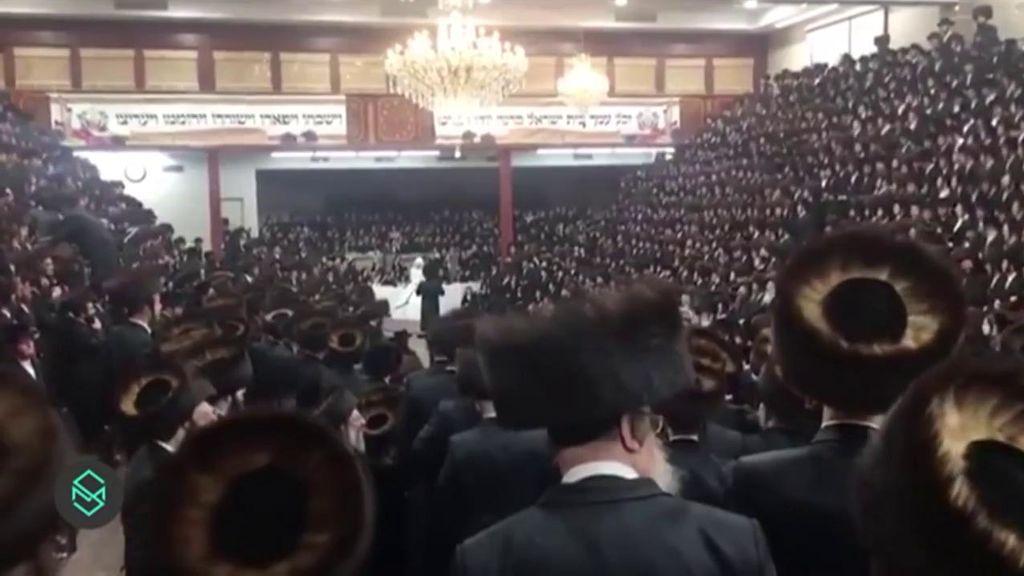 Boda judía de 7.000 invitados en plena pandemia