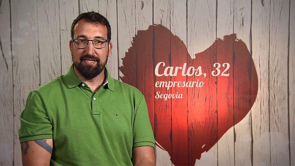 """Carlos: """"Soy distante, la gente segoviana o mesetera no suele expresar sus emociones"""""""