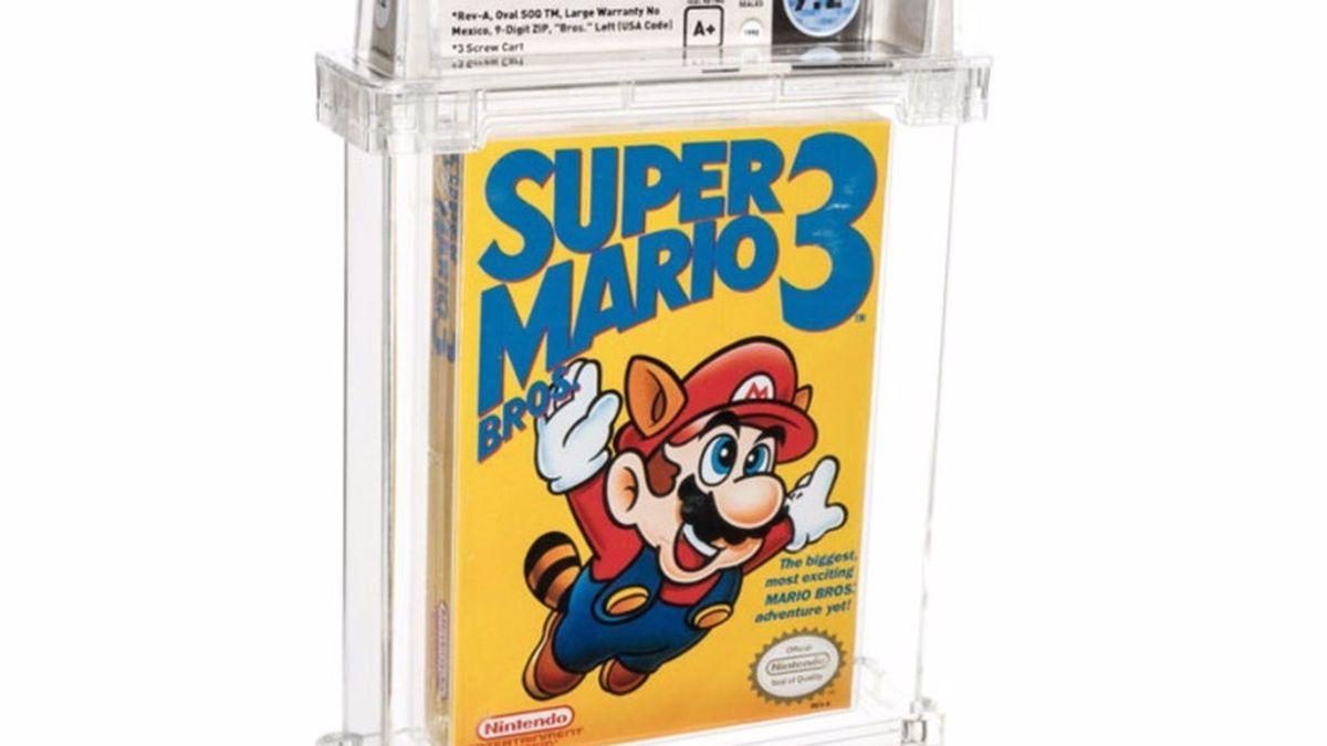 Ya es el videojuego más caro del mundo: venden el Super Mario Bros 3 de 1990 por más de 130.000 euros