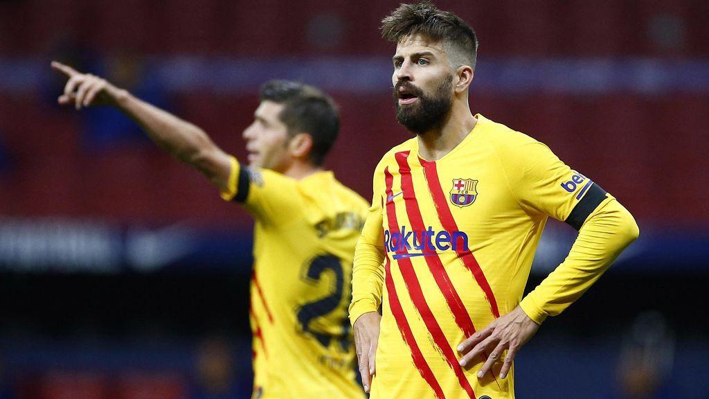 Crisis en el FC Barcelona: perdidos en Liga y con Piqué y Sergi Roberto lesionados de gravedad