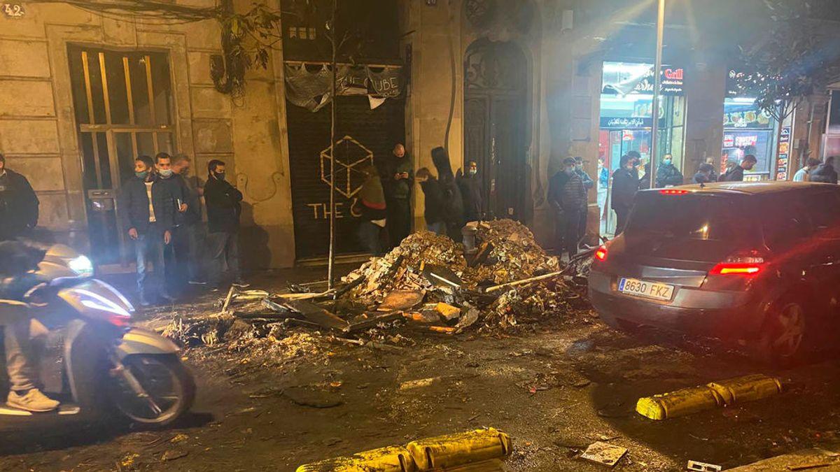Paralizados varios desahucios en Barcelona en medio de protestas vecinales