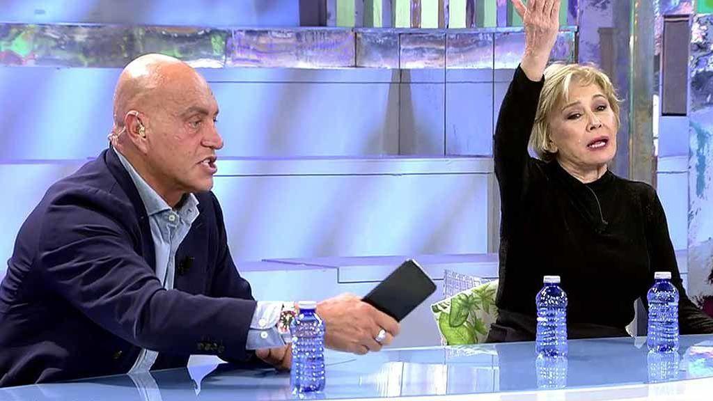 """La insólita e inesperada defensa de Mila Ximénez a Isabel Pantoja: """"Se puede decir de todo de ella ¿Pero que es vaga?"""""""