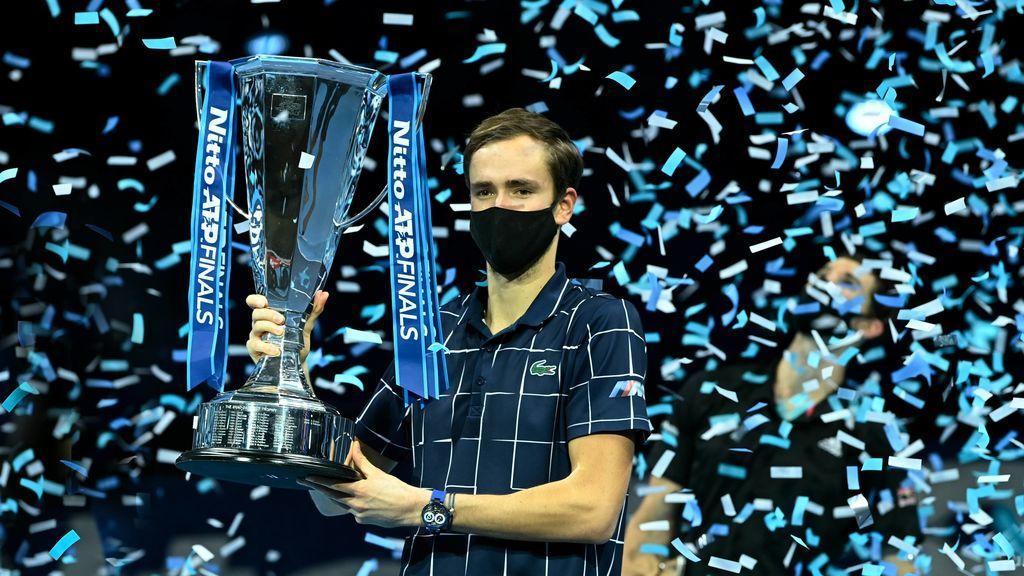 Medvedev  gana el Torneo de Maestros y se coloca como cuarto del mundo: Rafa Nadal conserva el número dos