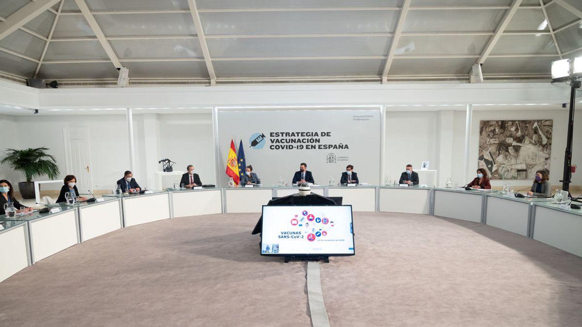 Sanidad cuenta con tener vacunas para inmunizar a casi el doble de la población española