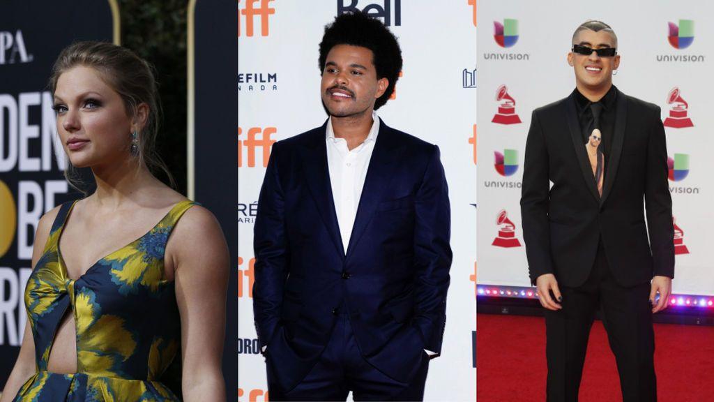 Taylor Swift, The Weekend y Bad Bunny triunfan en unos American Music Awards rendidos a lo latino