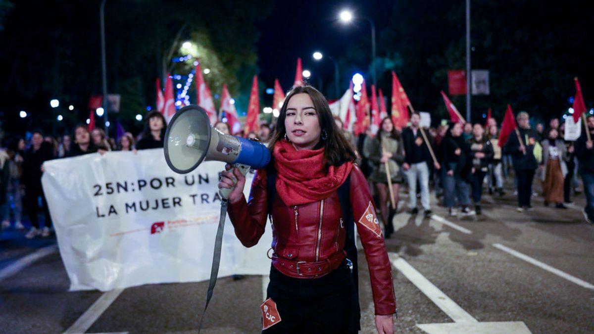 Un 25N en tiempos de pandemia: desde las manifestaciones 'seguras' a las reivindicaciones en los balcones