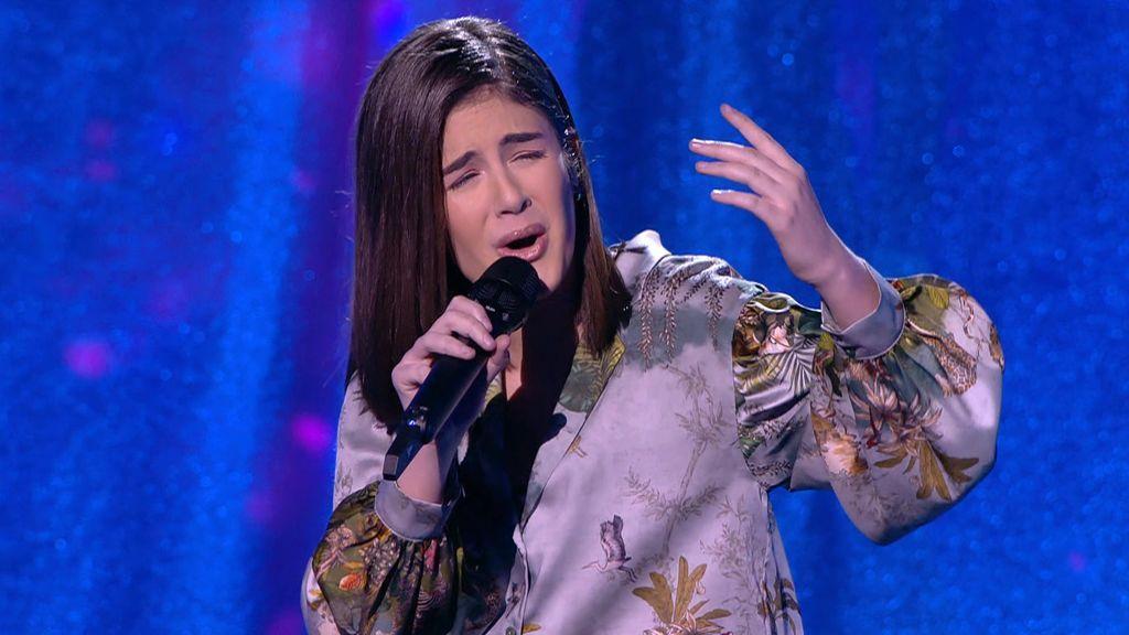 La actuación de Marta Mesa en la semifinal