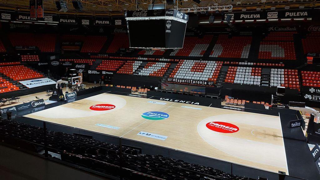 La FIBA escoge a La Fonteta para que sea la burbuja de la fase de clasificación para el Eurobasket 2022 del Grupo A