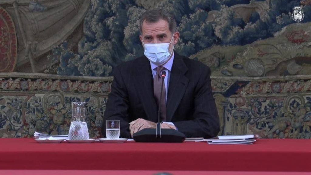 Felipe VI inicia los 10 días de cuarentena