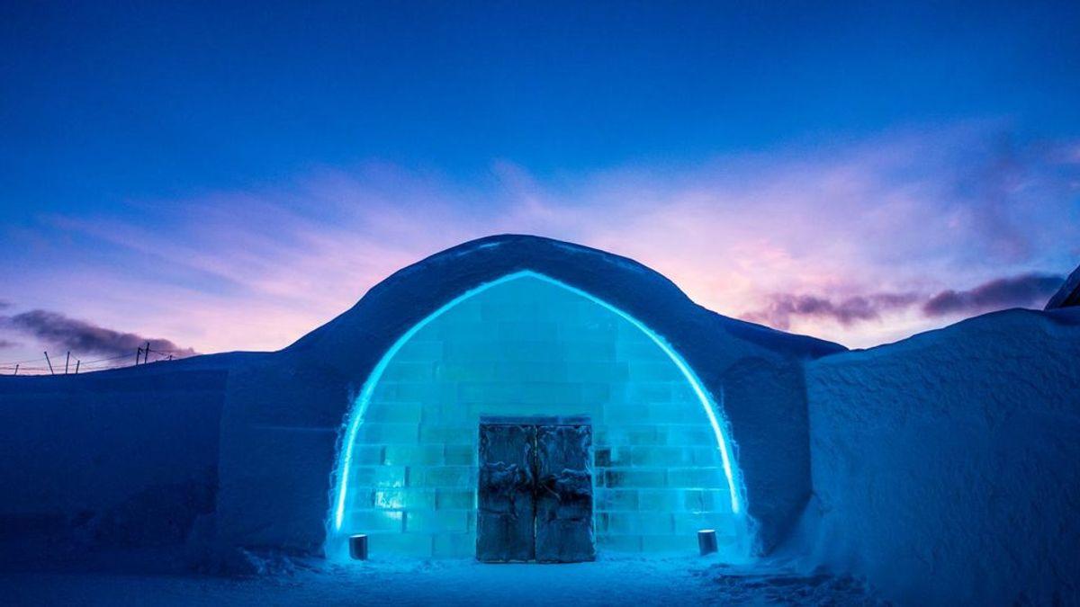 Hoteles originales: desde un cubo de cristal a un hotel de hielo