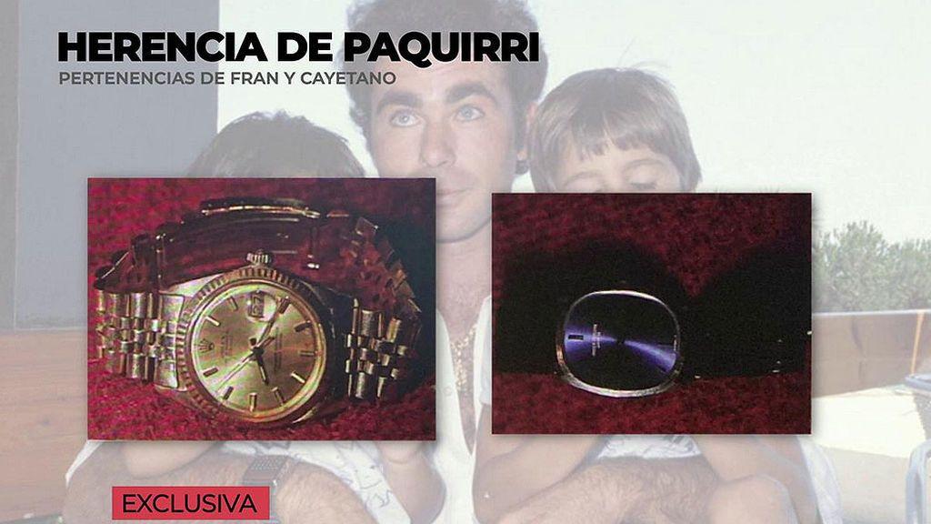 'Ya es mediodía' tiene acceso en exclusiva a los relojes de Paquirri que Carmina Ordoñez guardó para sus hijos Fran y Cayetano