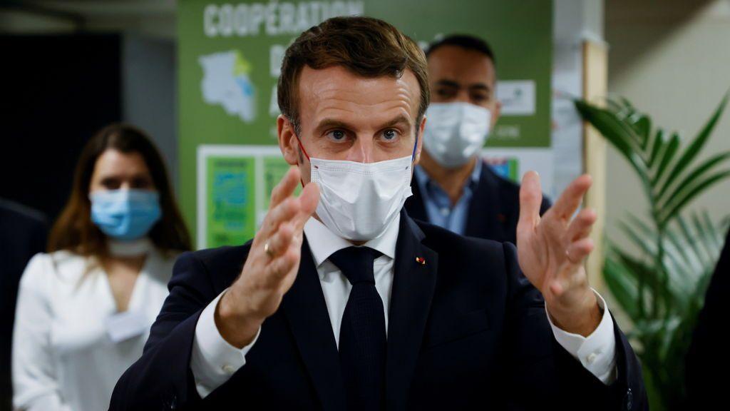 Macron anunciará un alivio del confinamiento impuesto en Francia contra el coronavirus