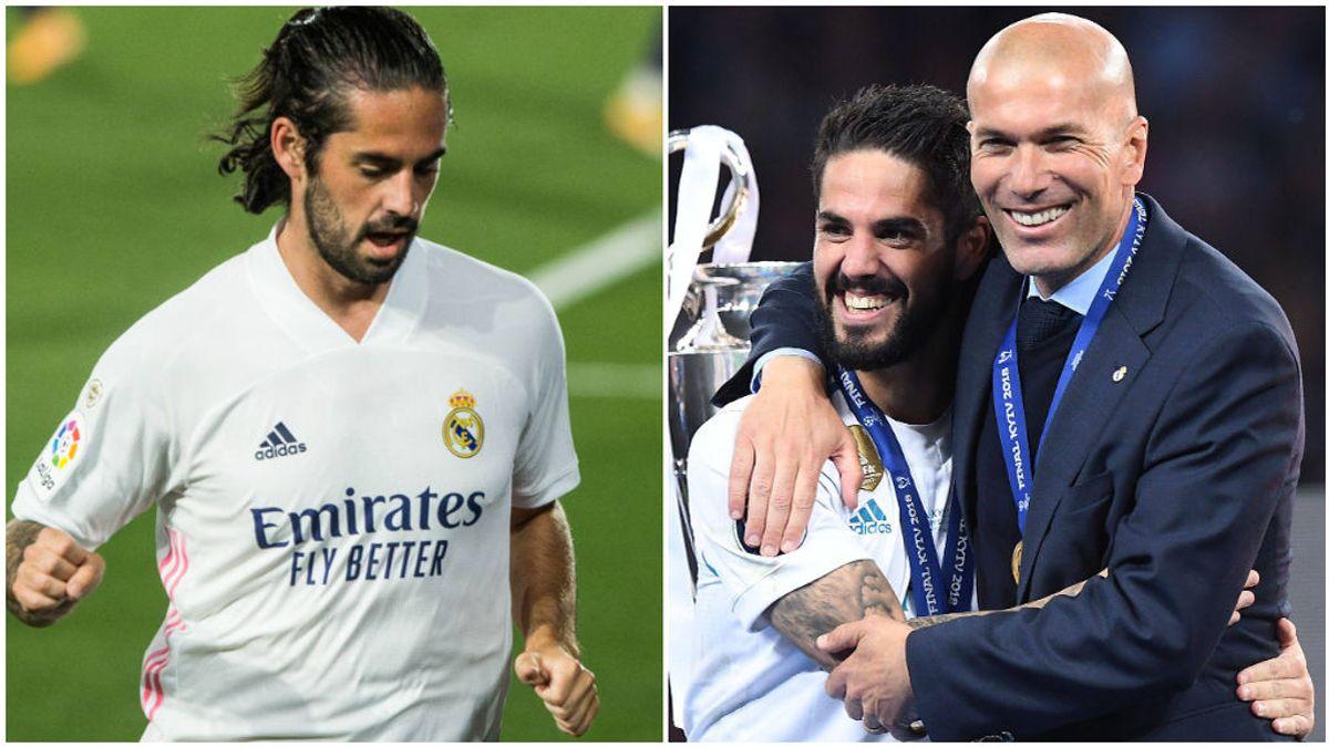 Isco Alarcón siempre ha contado con la confianza de Zidane.