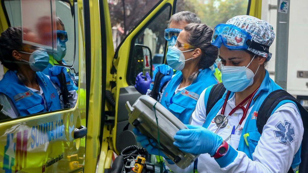 Madrid registra 1.319 contagios y 32 muertos, mientras los hospitalizados bajan