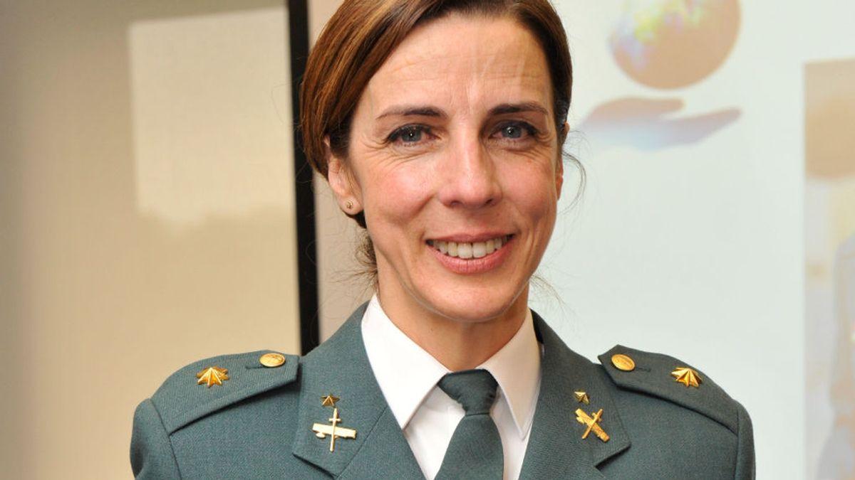 La teniente coronel Silvia Gil, primera mujer en asumir una dirección de Comandancia de la Guardia Civil