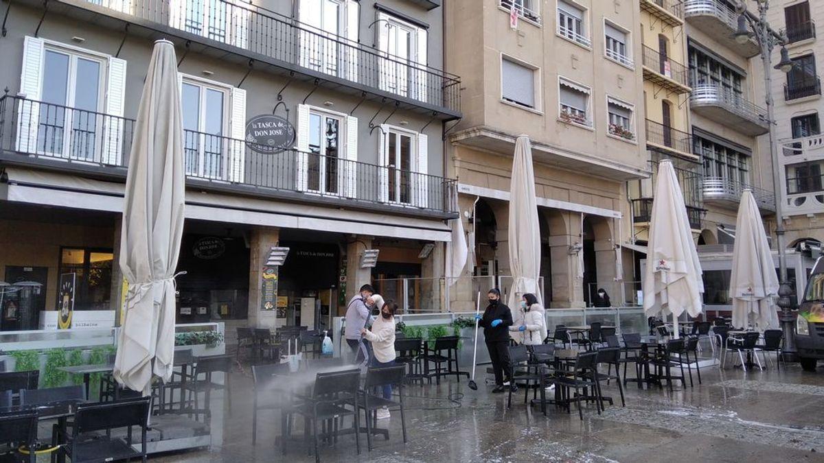 Navarra comienza las desescalada: reabre las terrazas pero no convence a los hosteleros