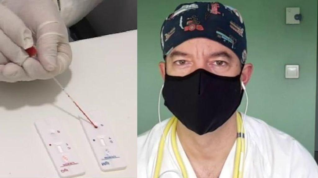 El médico César Carballo habla de los test de antígenos por saliva