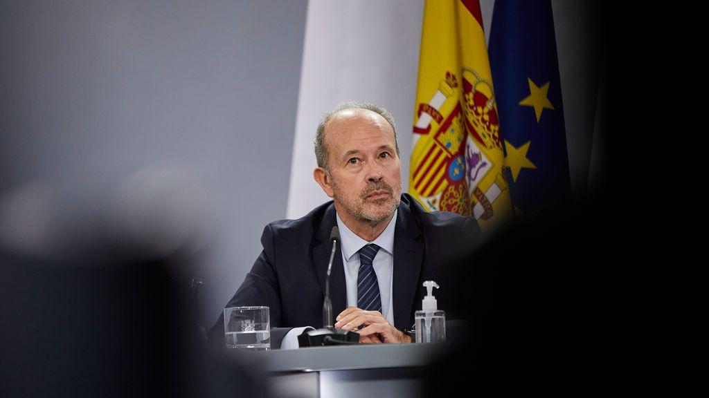 """Campo presenta la reforma que da la instrucción a los fiscales:  """"El fiscal será la espada, el juez el escudo"""""""